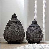 Lysestager & lanterner