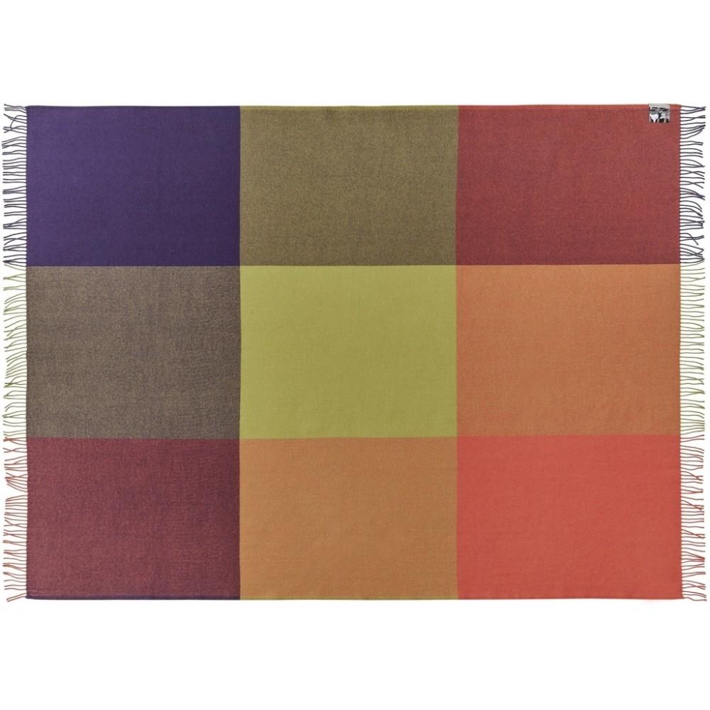 Merino uld plaid Mix farve orange-31