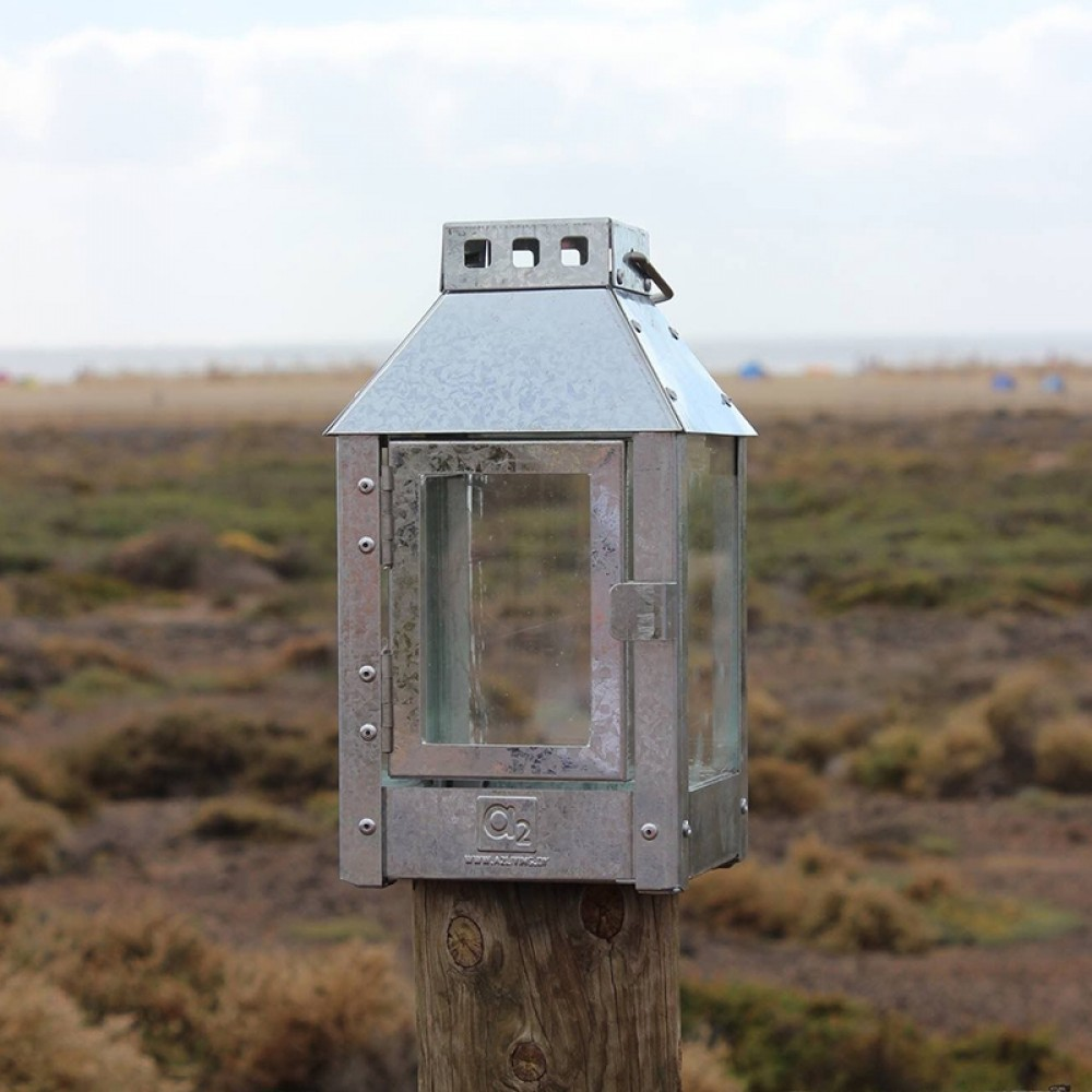 Galvaniseret lanterne A2 living Micro-31