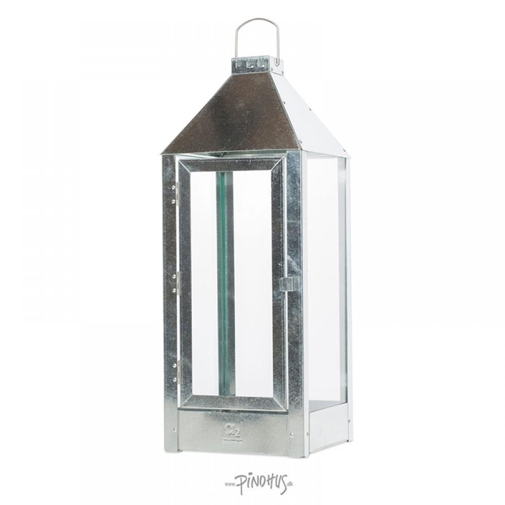 Galvaniseret lanterne - A2 living Maxi