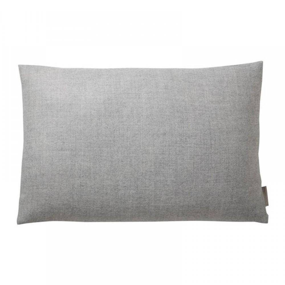 Pude - Baby alpaca lys grå 40x60cm