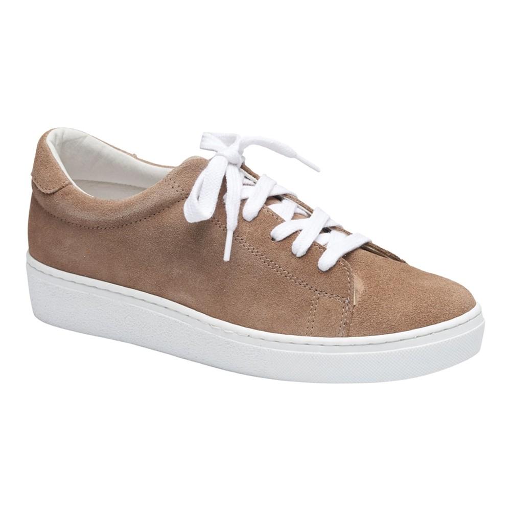 Ana ruskind sneakers - camel