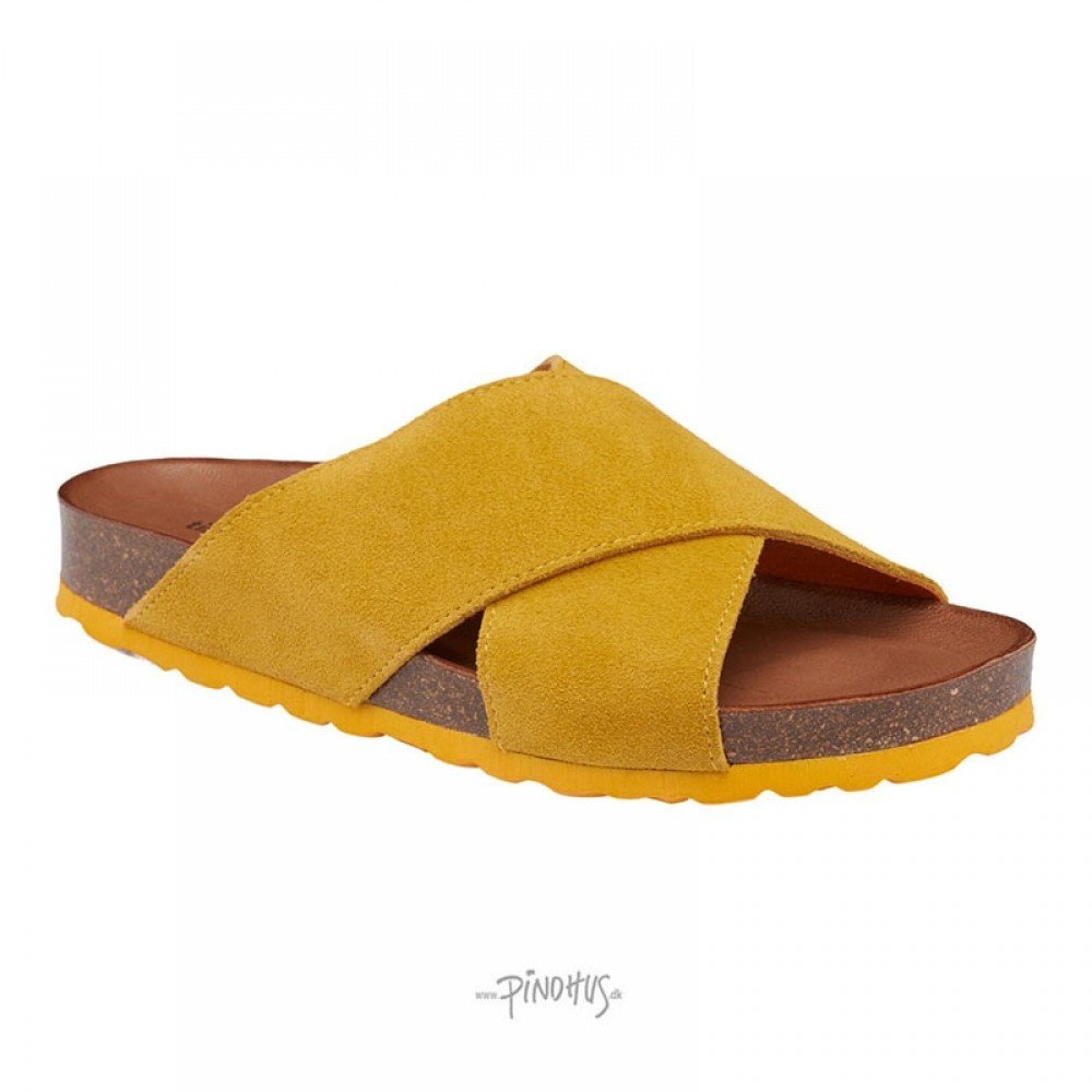 Annet sandal - Gul m/ gul bund