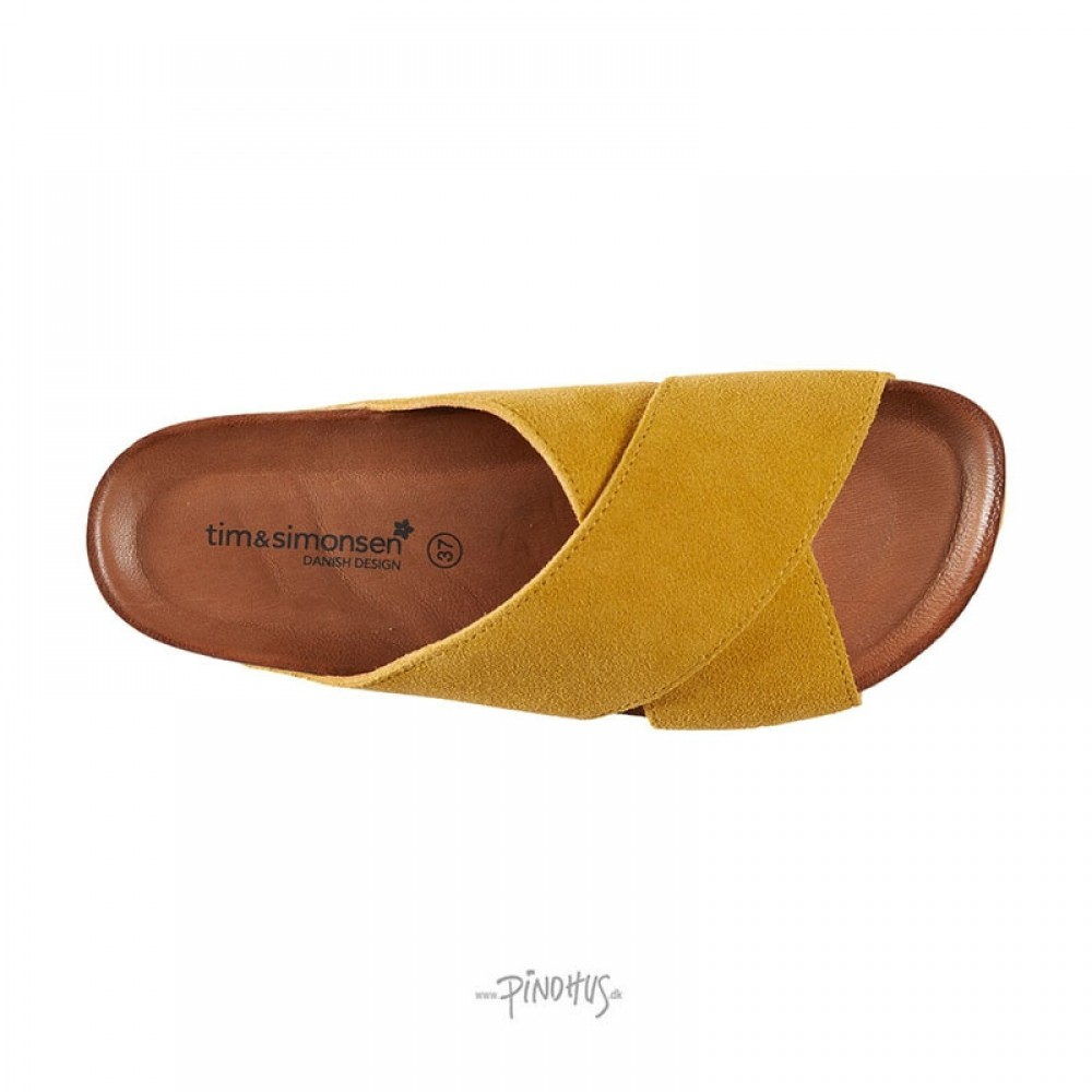 Annet sandal Gul m/ gul bund-31