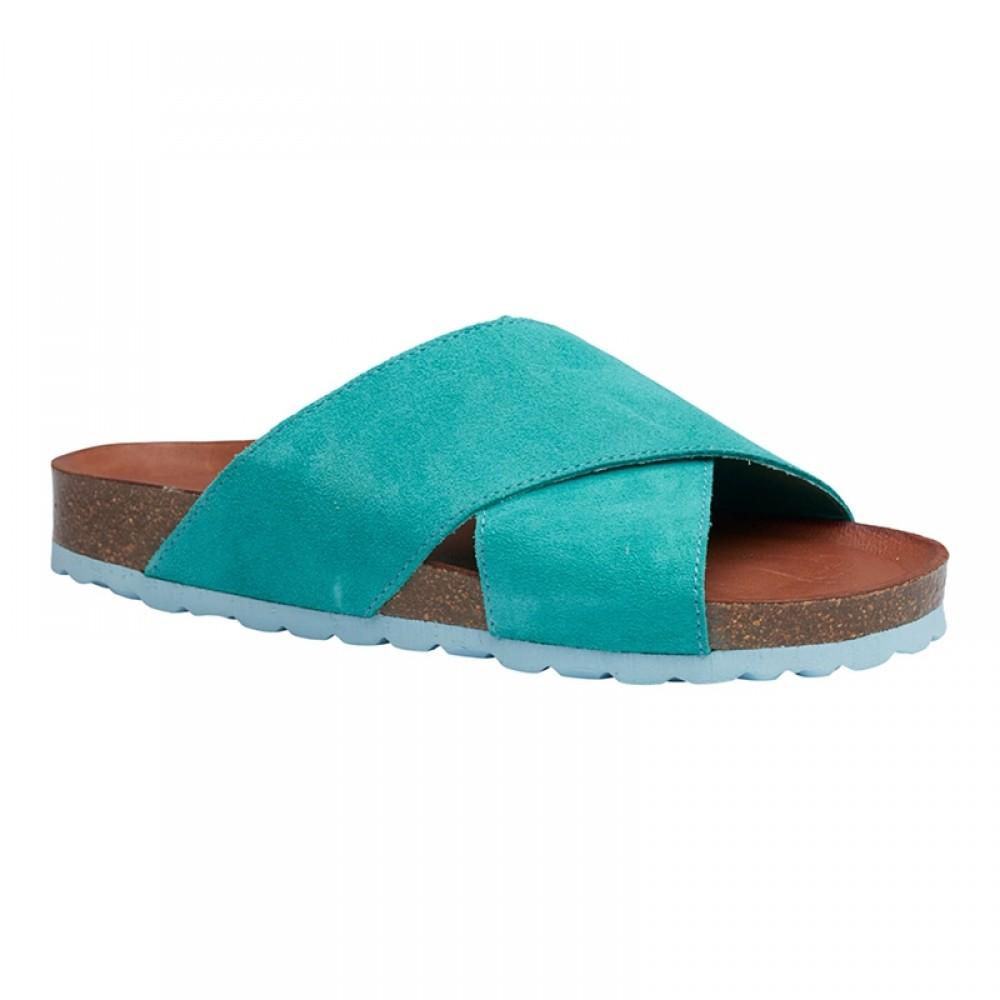 Annet sandal - Aqua /mint bund