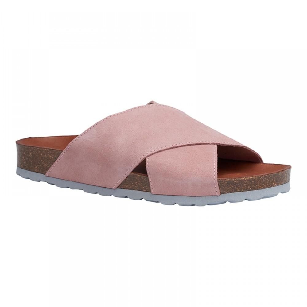 Annet sandal - Rosa m/lyseblå bund