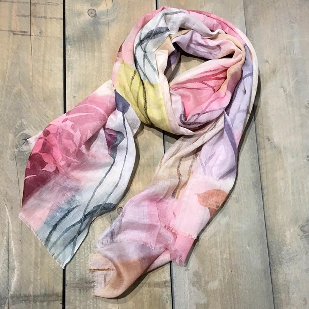 Aperitif tørklæde Akvarel pastel-34