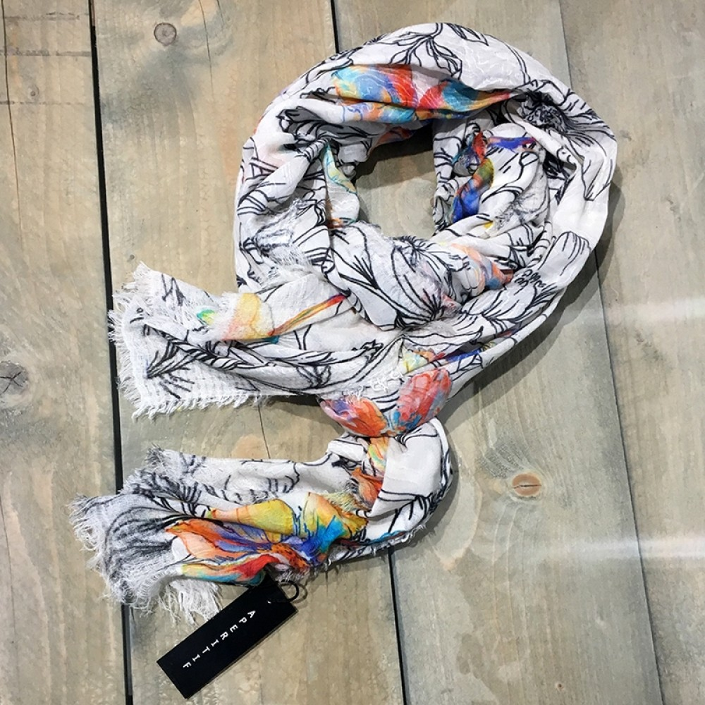 Aperitif tørklæde Flower-31
