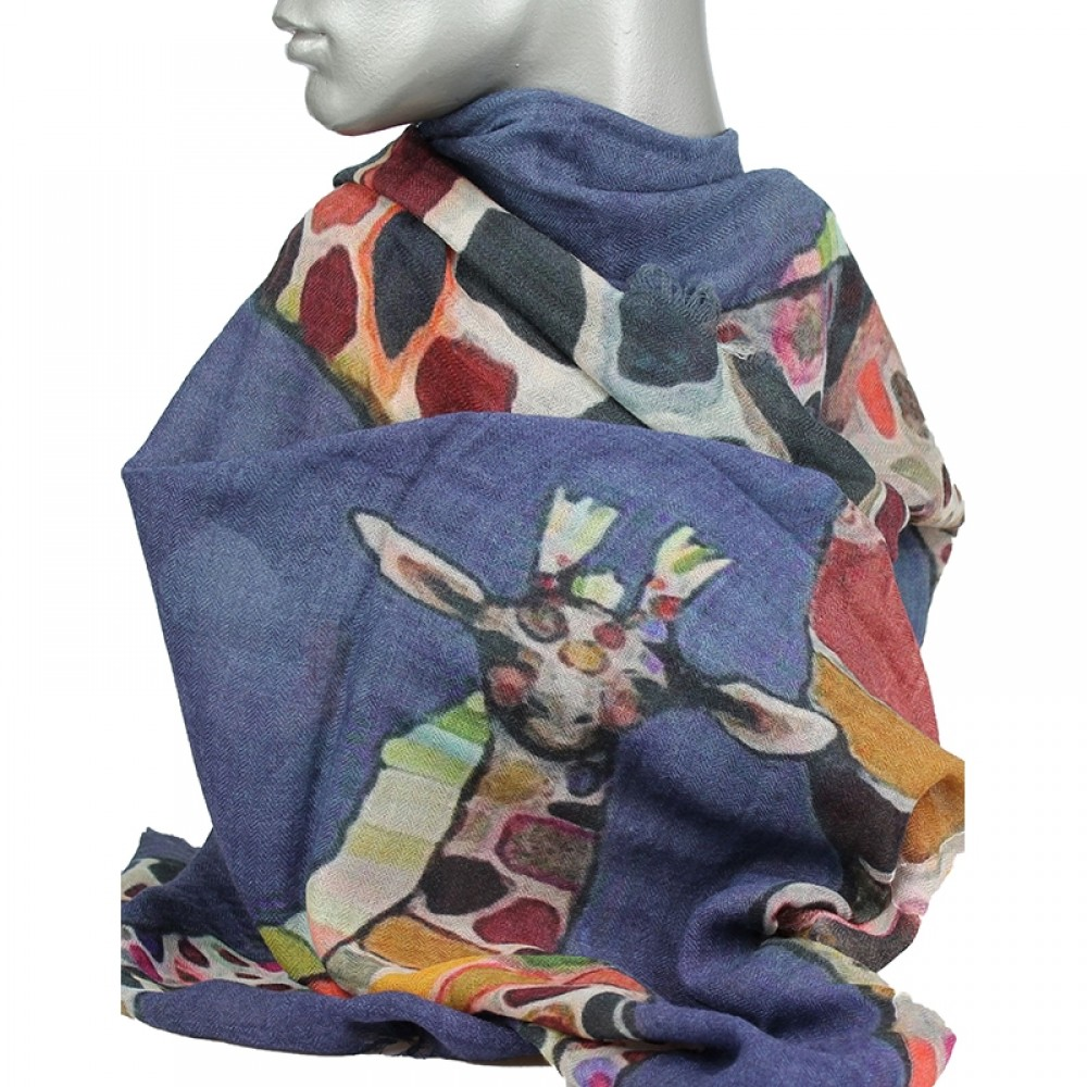 Aperitif tørklæde Giraf-32