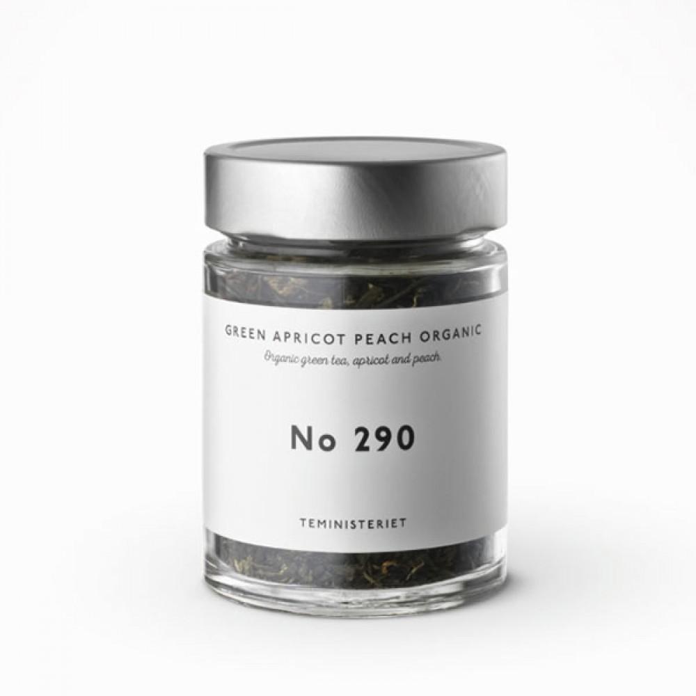 Teministeriet Green apricot peach organic-31