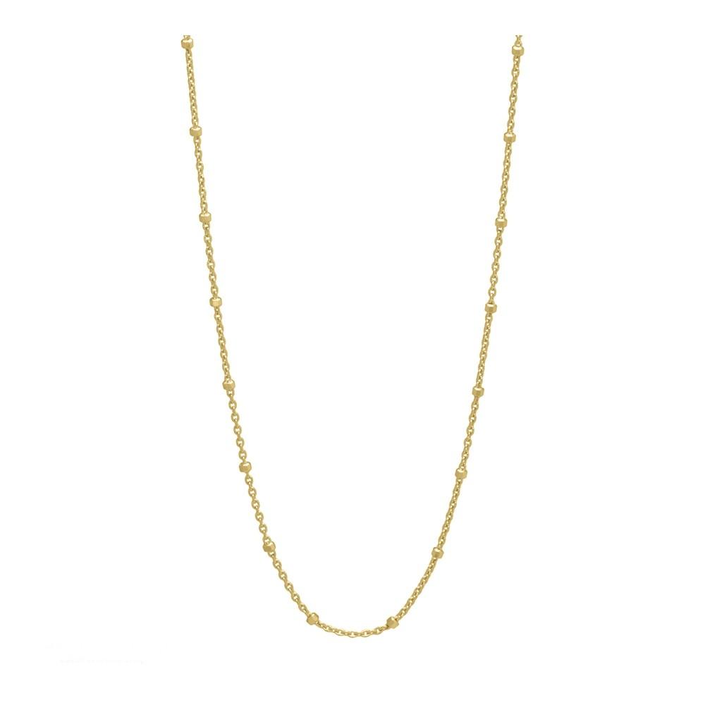 Aqua Dulce - Forgyldt dots halskæde 45cm