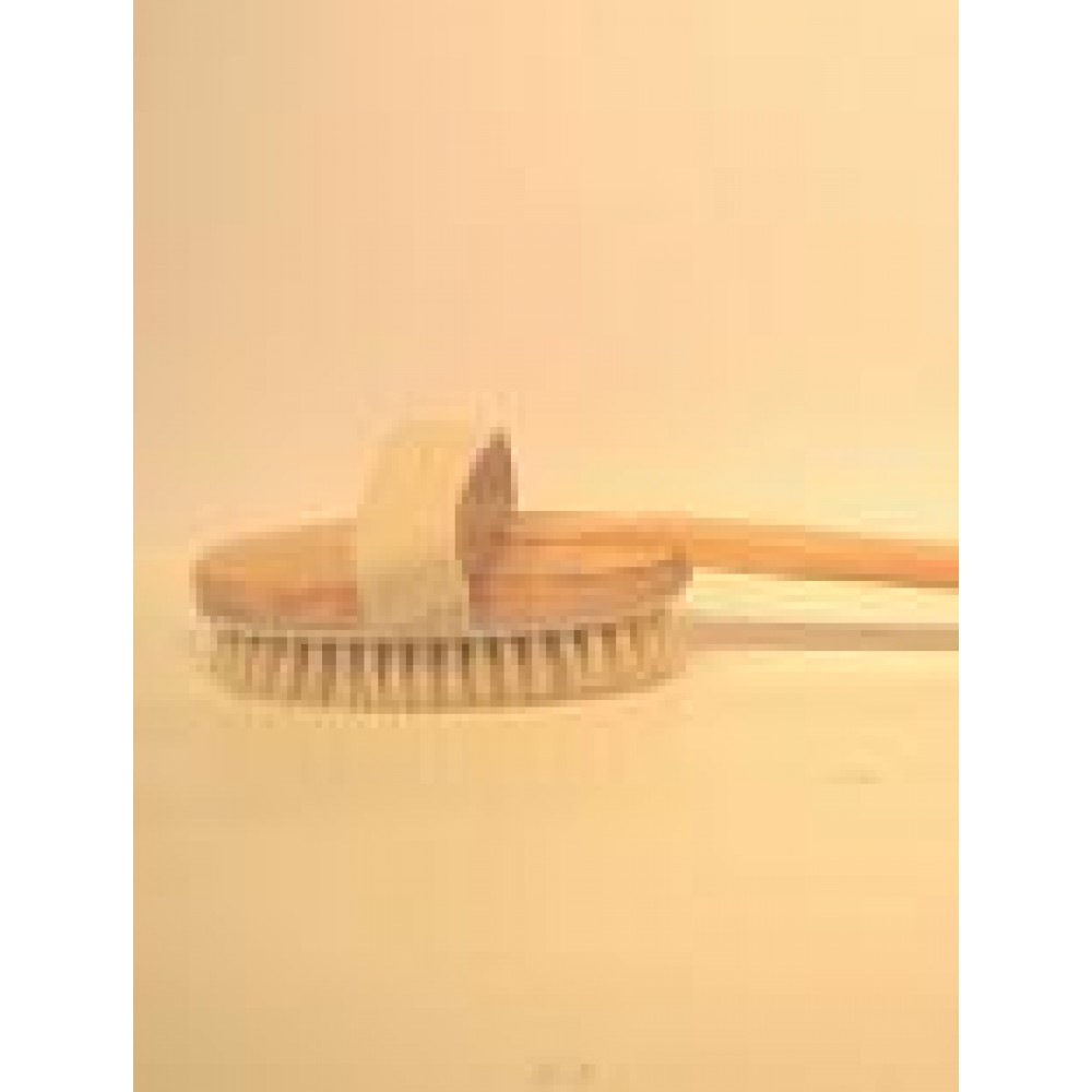 Badebørste i træ m/ skaft-30