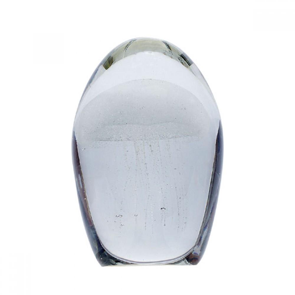 Brevpresser i glas Jelly fish-30