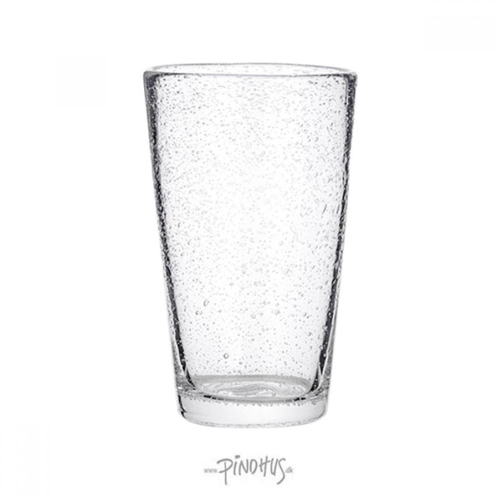Vandglas m/bobler H14cm