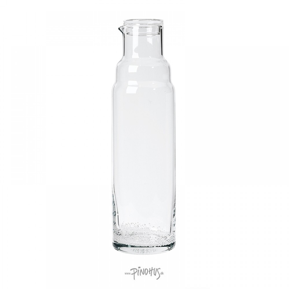 Bubble glasflaske m/låg-31