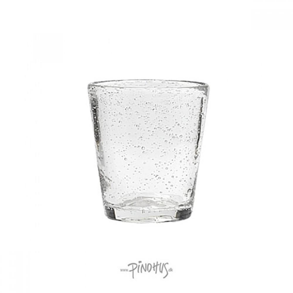 Vandglas klar m/bobler-31