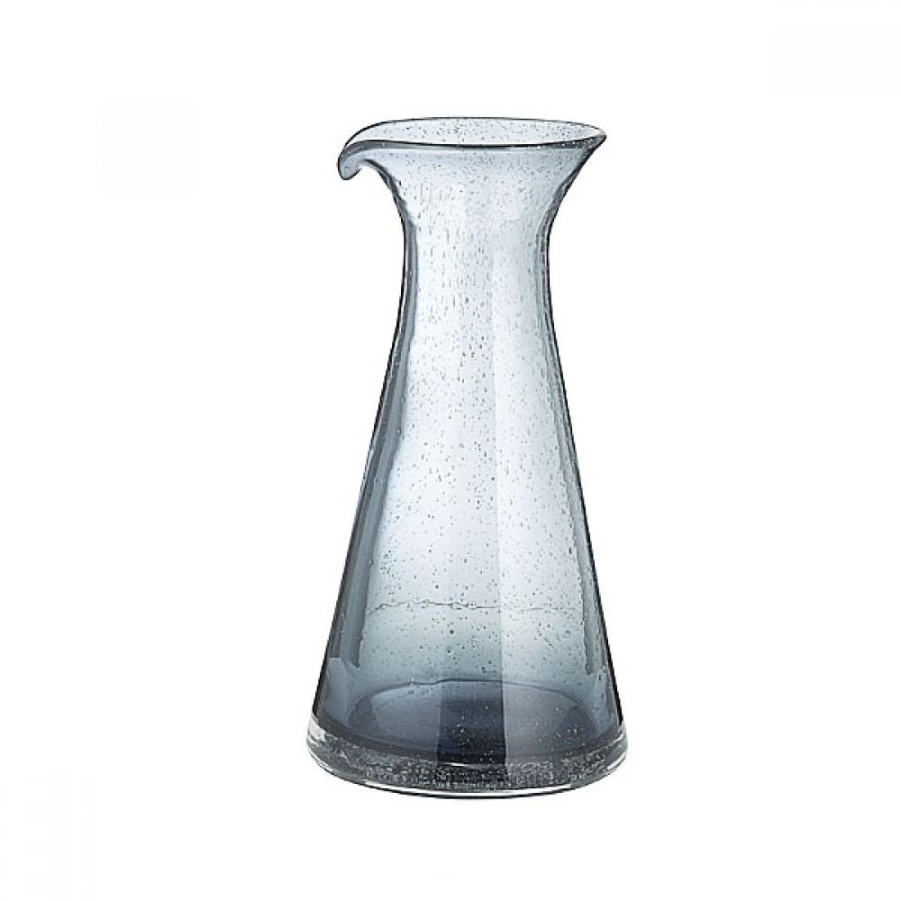 Karaffel grå-blå m/bobler-31