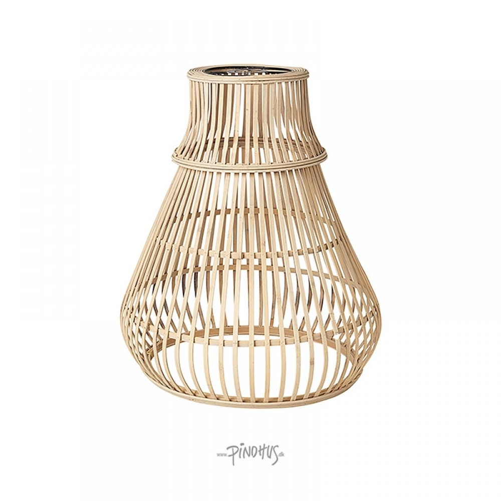 Bambus lampeskærm Zamba natur-31