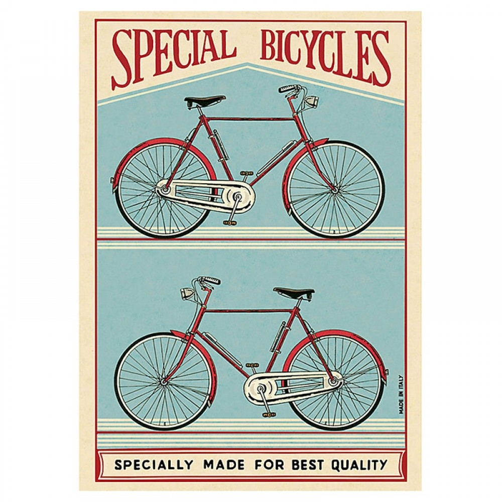 Plakat - Special bicycles 50x70cm