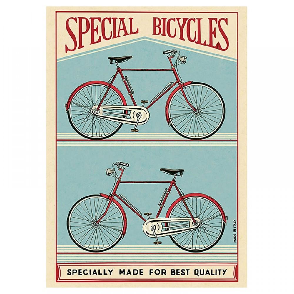 Plakat - Special bicycles 50x70cm
