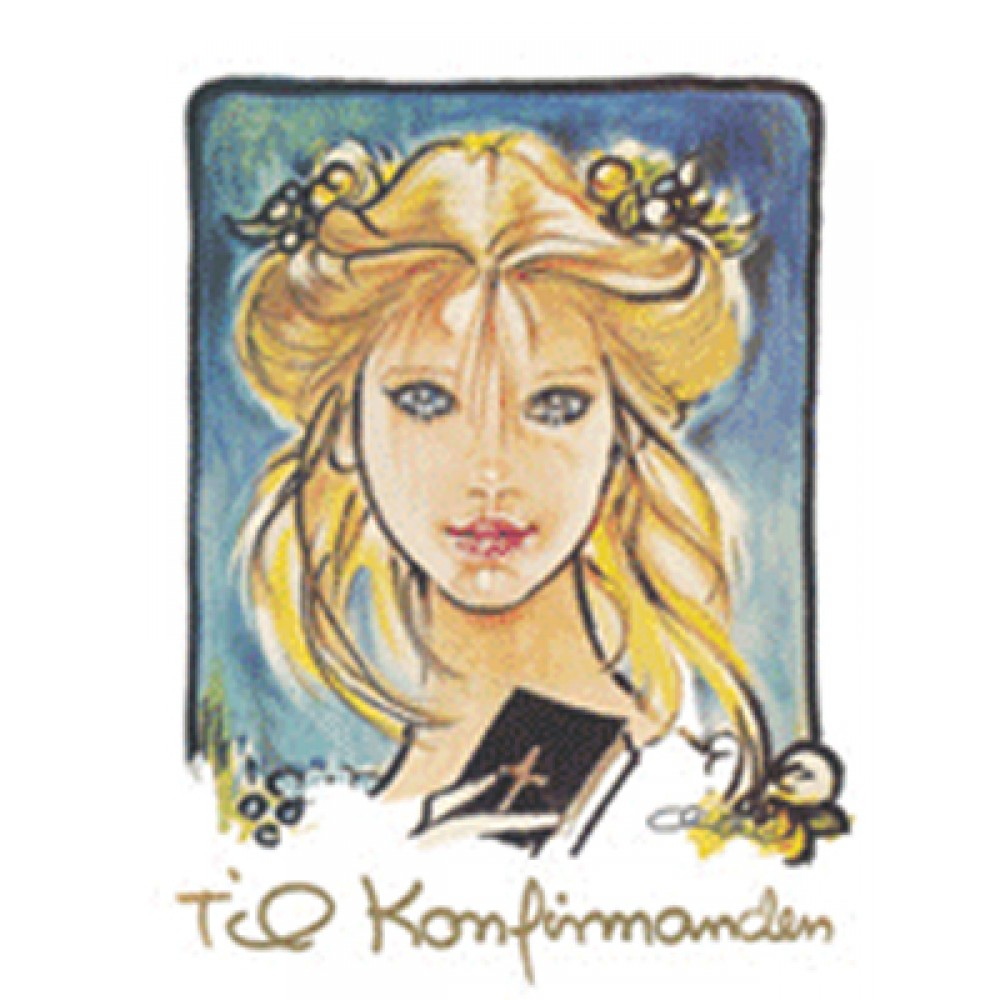 Christel - Konfirmand telegram