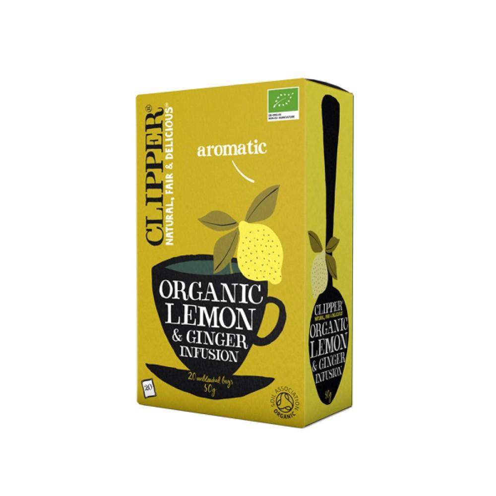 Clipper te - Citron & ingefær te