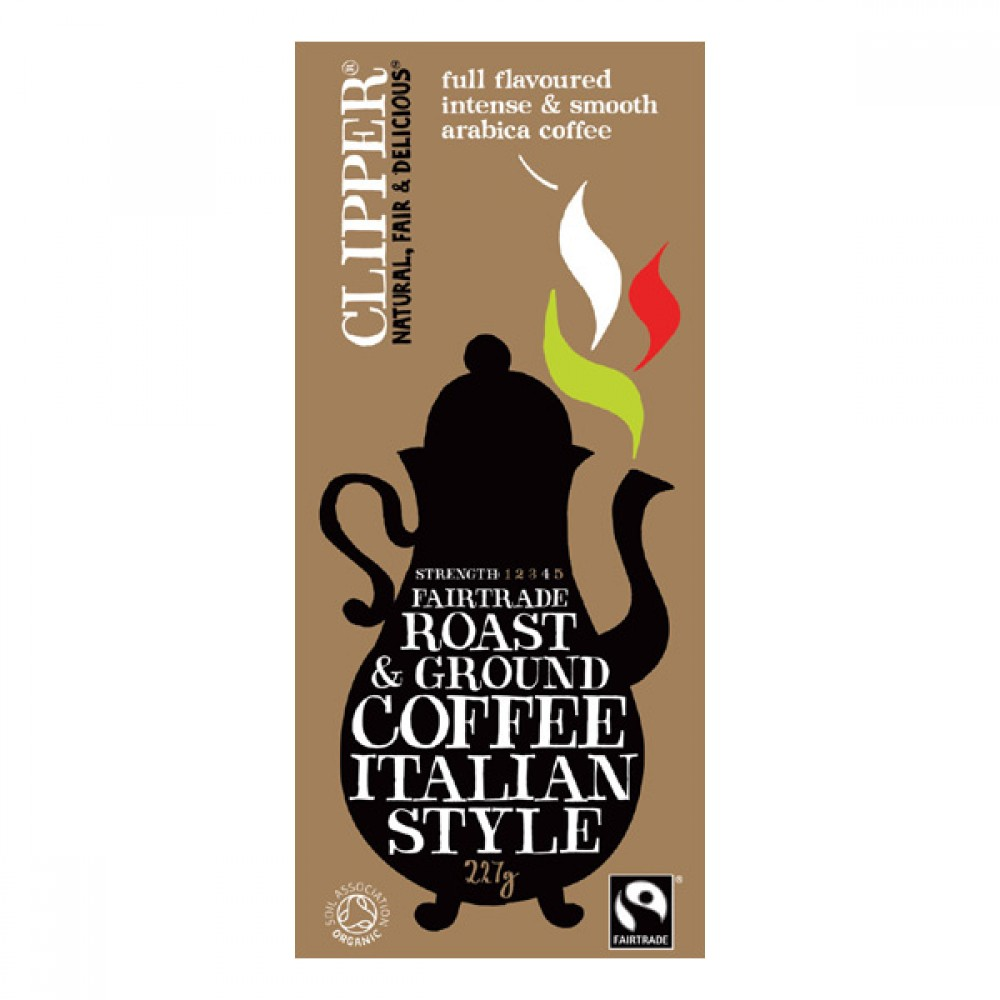 Clipper kaffe malet Italian style-30