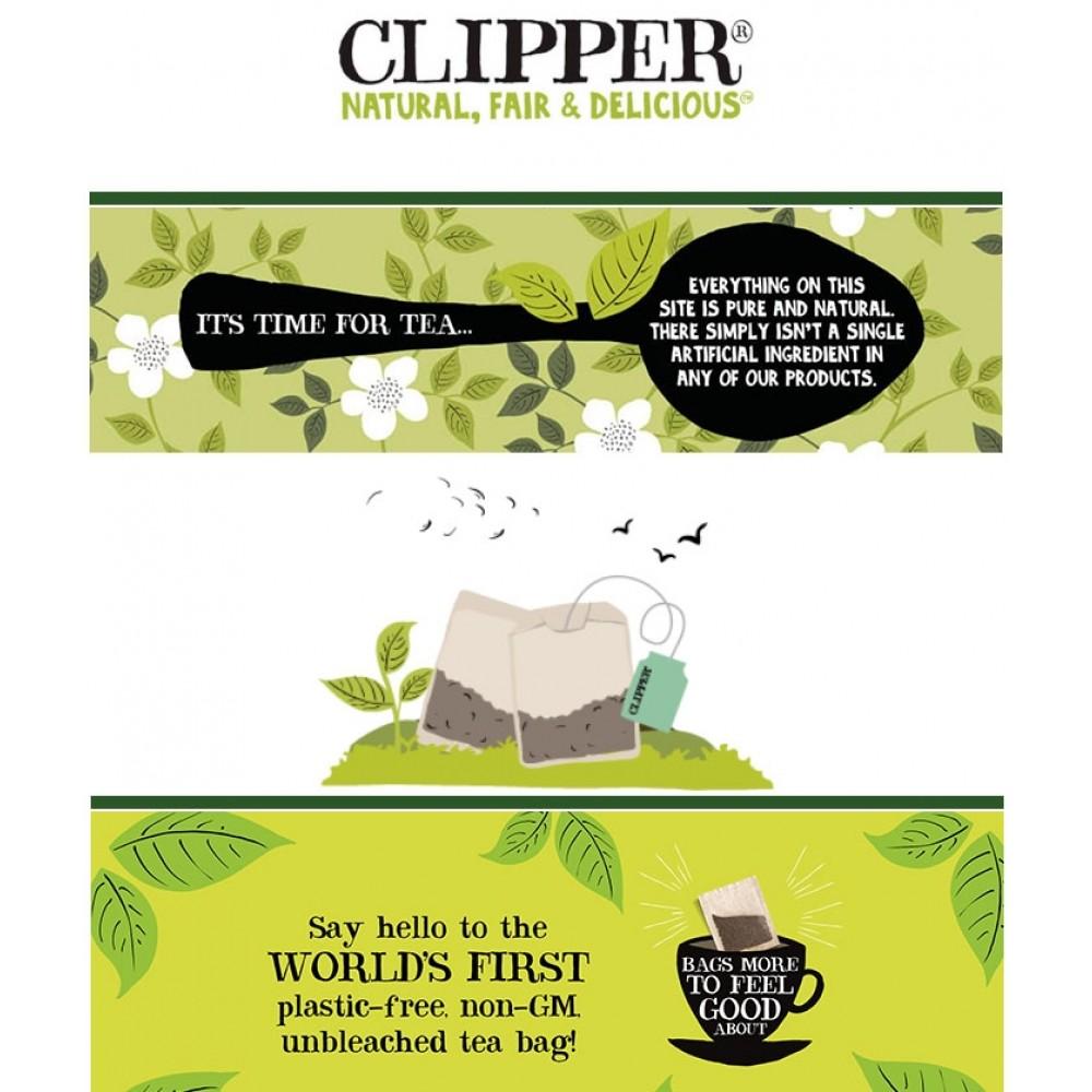 Clipper te Øko. Grøn Chai te-31