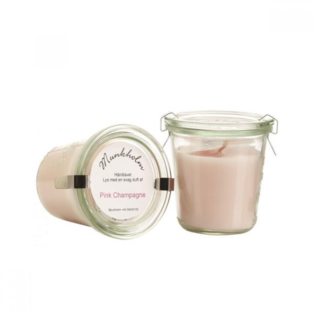 Munkholm duftlys Pink Champagne-30