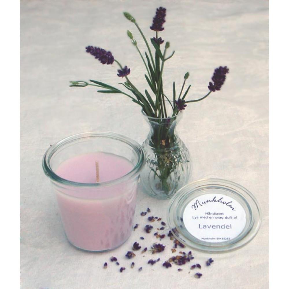 Munkholm duftlys Lavendel-30