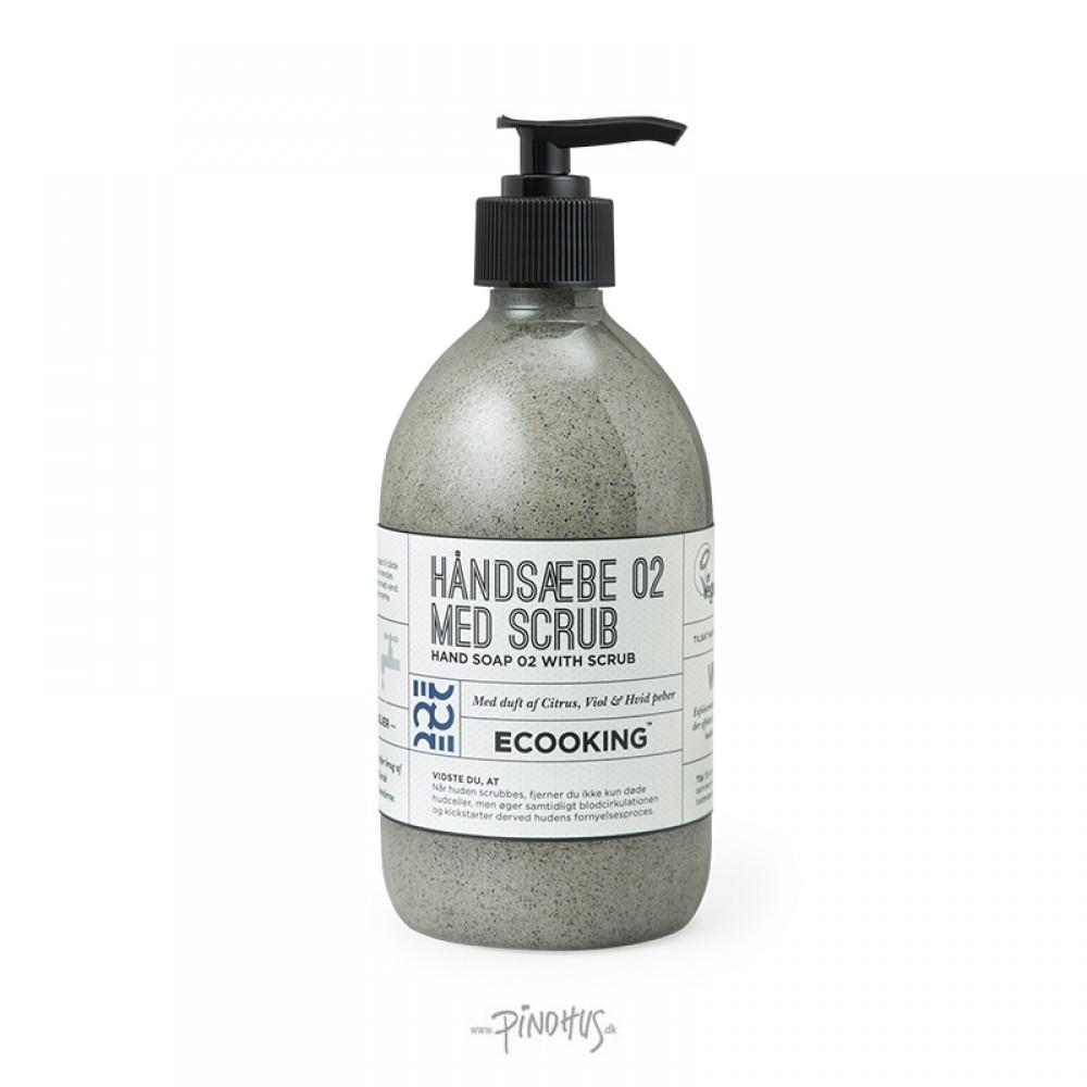 Ecooking - Håndsæbe m/ scrub