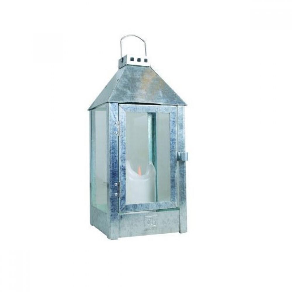 Galvaniseret lanterne A2 living Midi-30