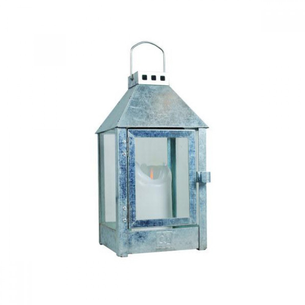 Galvaniseret lanterne A2 living Mini-30