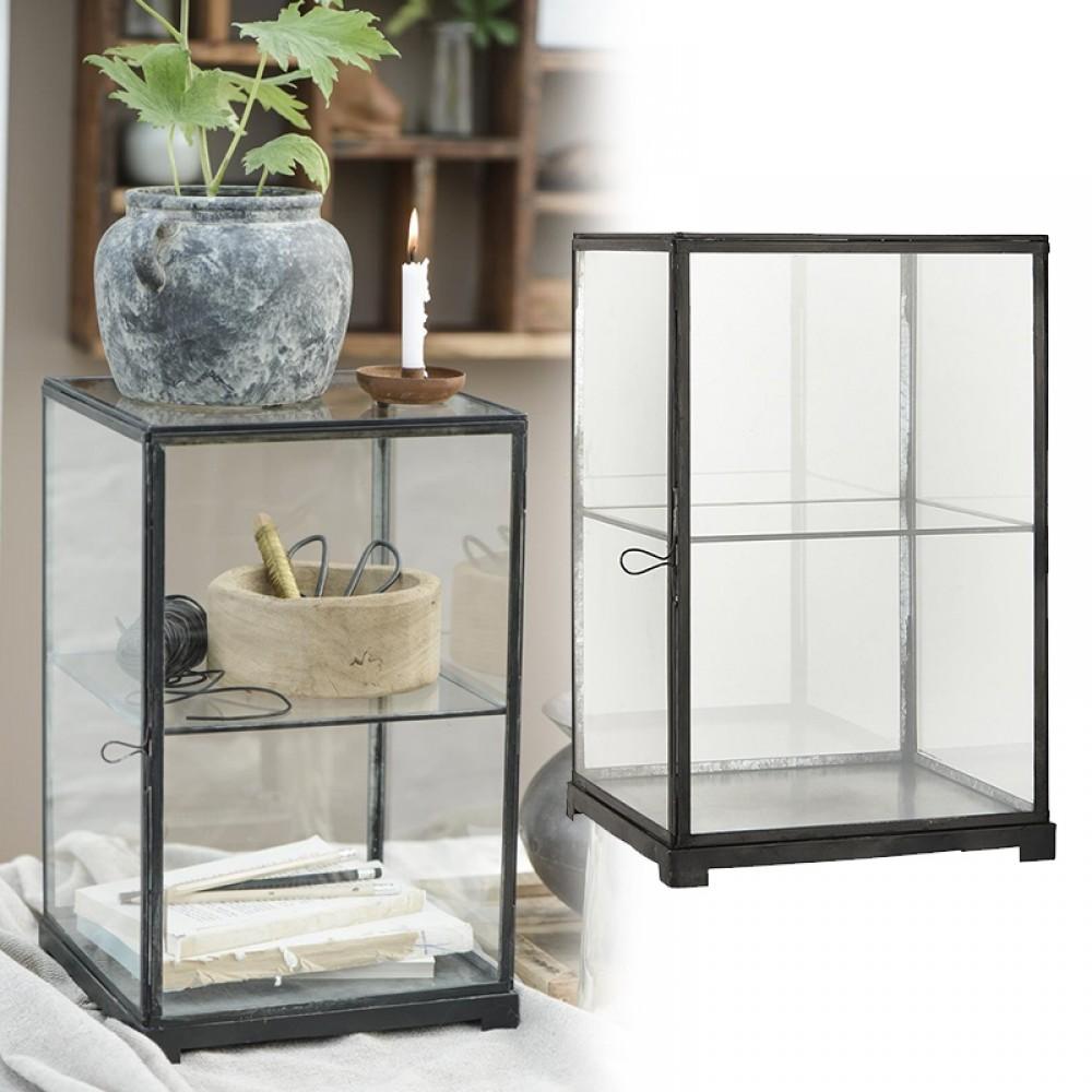 Ib Laursen - Glas displey m/hylde