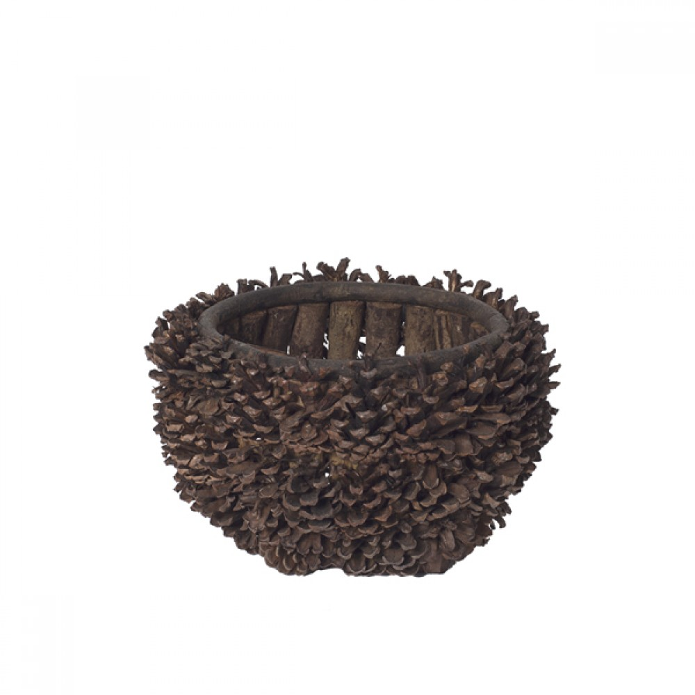 Grankogle kurv/skål-3