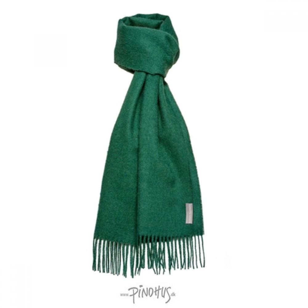 Halstørklæde Baby alpaca flaskegrøn-31