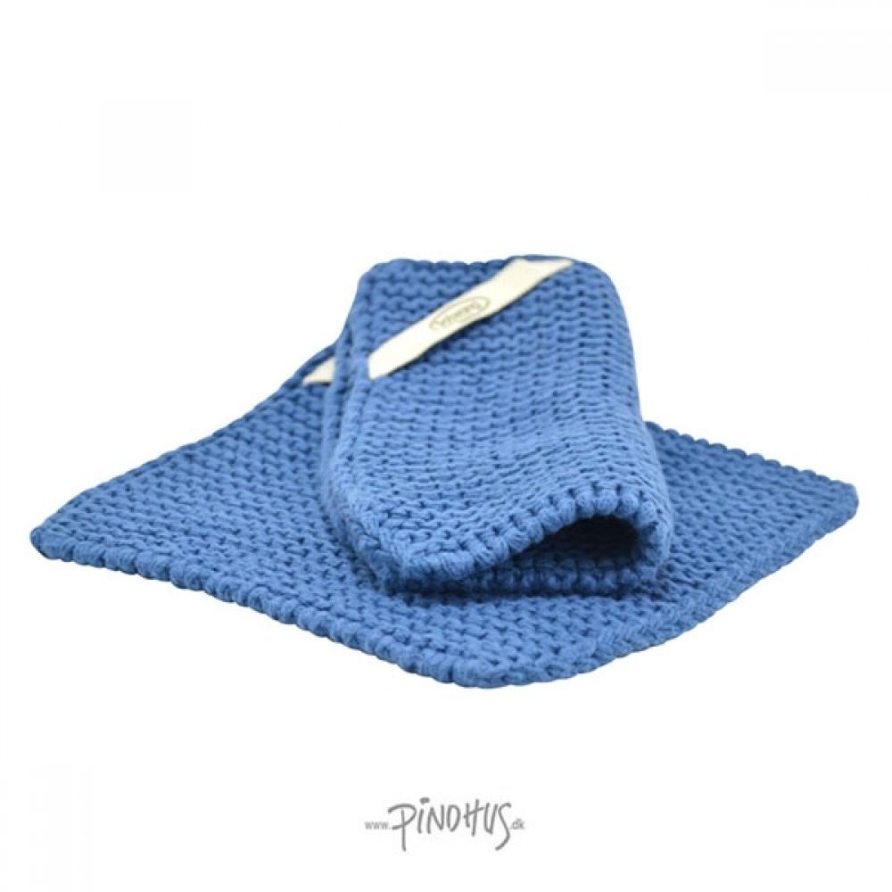 Solwang Grydelapper - Støvet blå