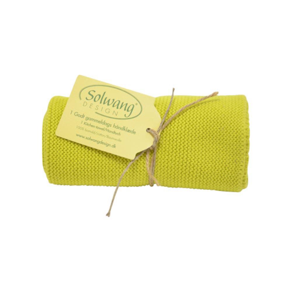 Solwang Strikket Håndklæde - Citronelle