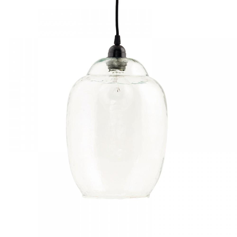 Glasskærm mundblæst glas H30-30