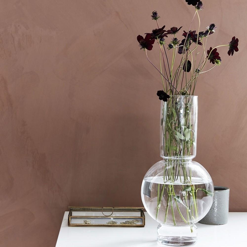 House Doctor - Bubble glas vase H35cm