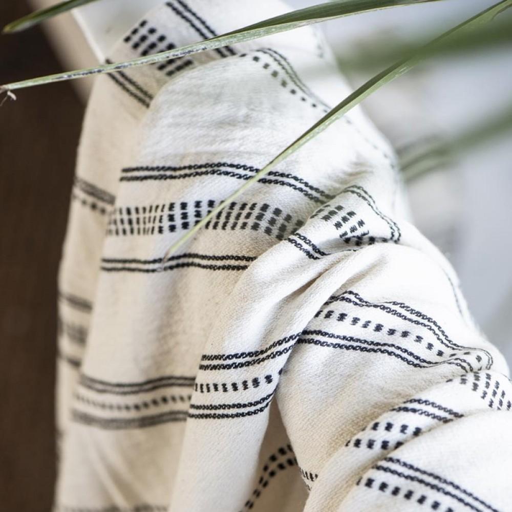 Ib Laursen - Hamam håndklæde m/frynser