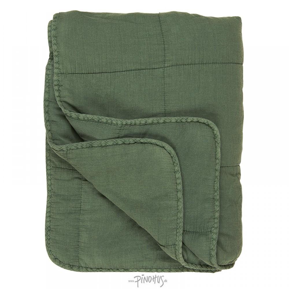Ib Laursen Sommergrøn Quilt tæppe-31
