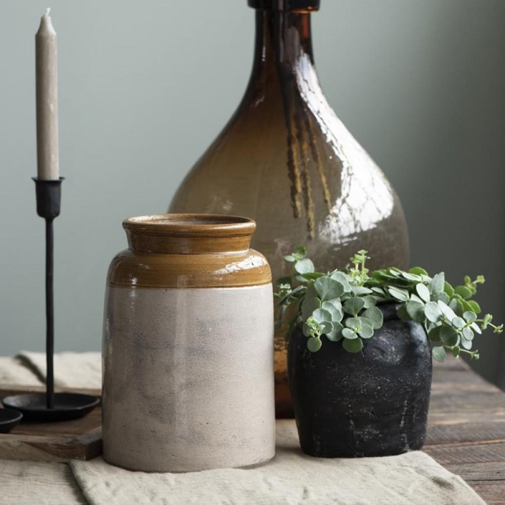 Ib Laursen Keramikkrukke Unika H23cm-31