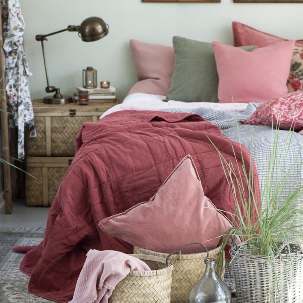 Ib Laursen - Faded rose Quilt tæppe