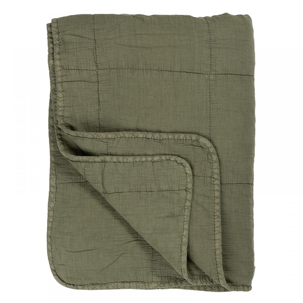 Ib Laursen - Olive Quilt tæppe