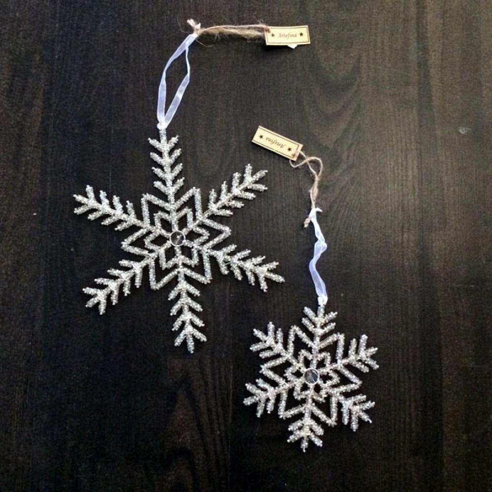 Iskrystal sølvglitter-30