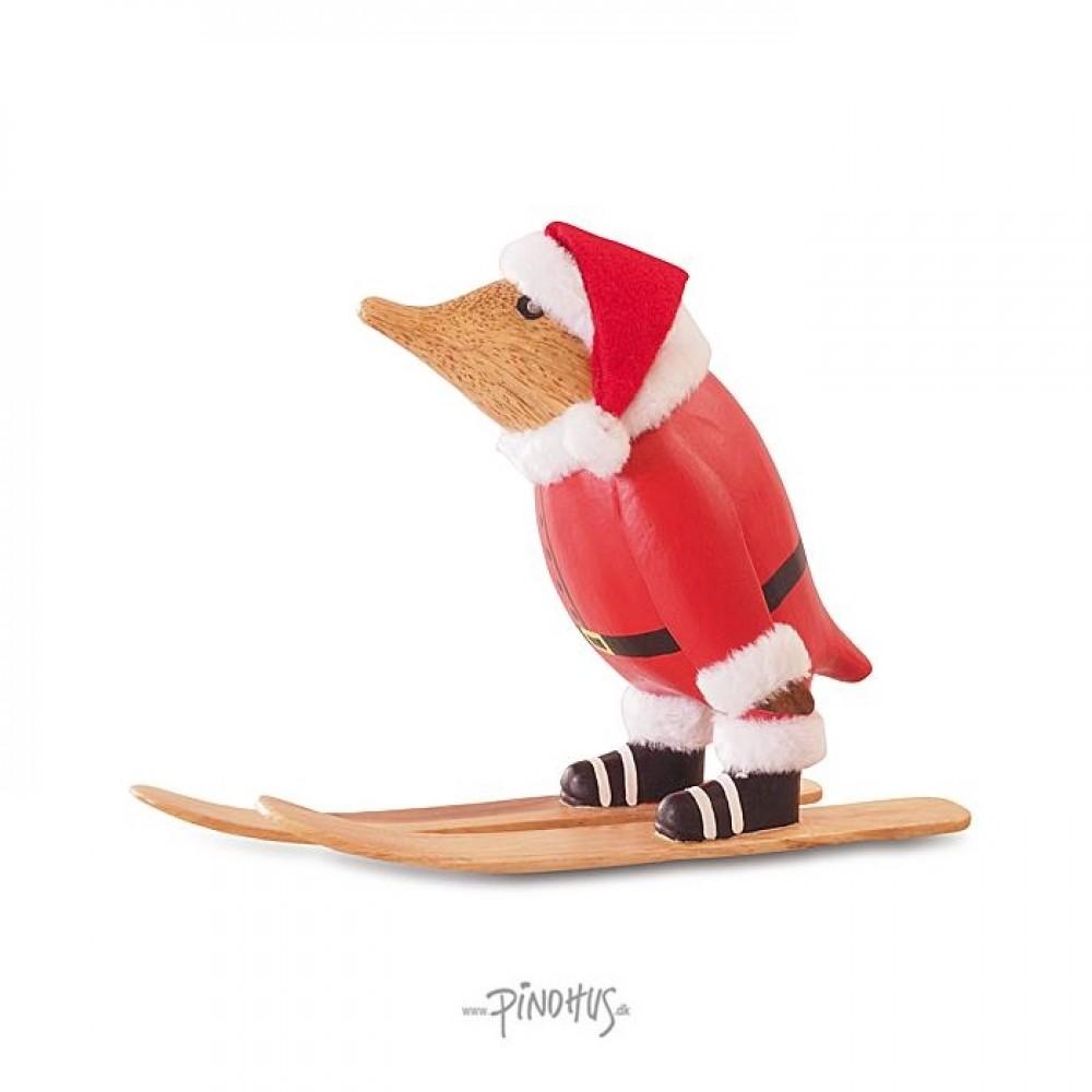 Jule Pingvin på ski-31