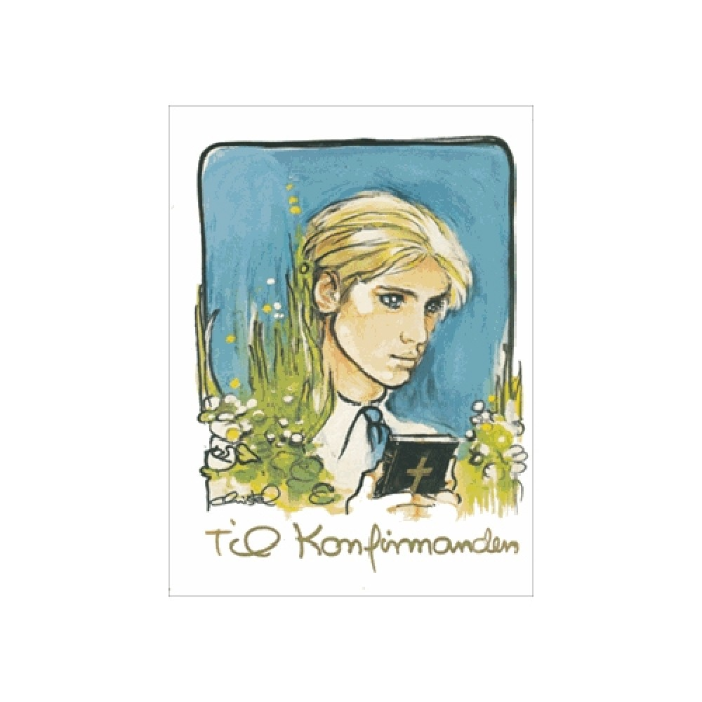 Christel - Konfirmand telegram dreng