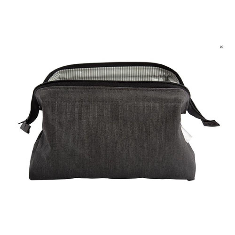 Kosmetik taske Grå hør-31