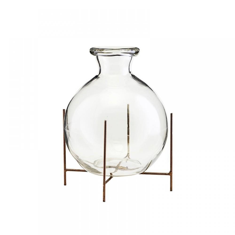 Lana Vase m/ stel H17cm-32